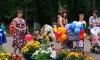 Парад колясок на День семьи, любви и верности в Лихославле. Фото: Елена Смирнова