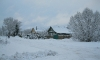 Заснеженные улицы Лихославля утром 5 декабря, 2013 год. Фото: Татьяна Леонидова
