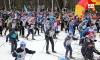 Старт лыжных гонок. Фото: Алексей Косоруков, kp.ru