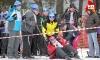 Глава областного наркоконтроля Василий Попенко упал на старте, но к финишу пришел первым. Фото: Алексей Косоруков, kp.ru