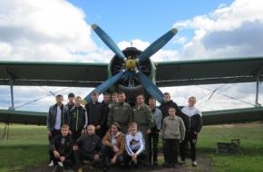 Студенты Калашниковского экономического техникума совершат прыжок с парашютом, посвятив его Празднику Победы