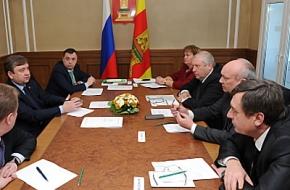 Совет муниципальных образований Тверской области обсудил с губернатором ряд социально значимых вопросов