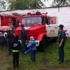 Лихославльские школьники побывали с экскурсией в пожарной части № 38