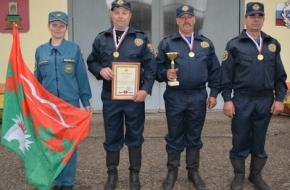 Пожарные добровольцы из Спировского района стали победителями регионального этапа Всероссийского фестиваля «Созвездие мужества»