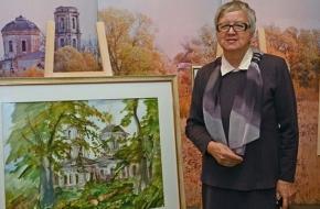 История одного села глазами художников
