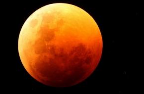 В ночь с 27 на 28 сентября земляне увидят огромную «кровавую луну»