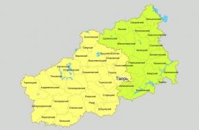 Для выборов депутатов Госдумы Тверскую область разделили на два избирательных округа