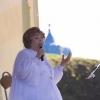 Знаменитая певица Эдита Пьеха решила стать депутатом Законодательного собрания Тверской области и встретилась с жителями Торжка