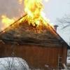 Праздничные посиделки в бане в деревне под Лихославлем закончились пожаром (фото)
