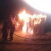 Из-за нарушения техники безопасности в Лихославле сгорела бытовка (фото)