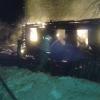 Из-за короткого замыкания в Лихославльском районе сгорел жилой дом (фото)