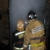 Вечером в Торжке загорелась баня (фото)