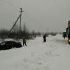 В Лихославльском районе автоледи на иномарке не справилась с управлением и вылетела с дороги (фото)