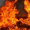 Вечером в Лихославле из-за короткого замыкания сгорел жилой дом