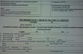 Житель Спирово полгода добивался от Спировской ЦРБ подтверждения смерти жены