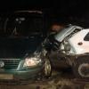 В Торжке четыре женщины пострадали в столкновении двух иномарок (фото)