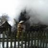 В деревне под Лихославлем сгорел жилой дом (фото)