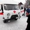 В Спирово освятили машину скорой помощи