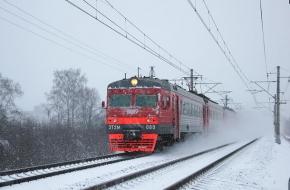 С 12 января частично изменяется расписание пригородных поездов Тверь – Бологое