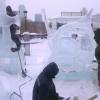 Братья Григорьевы из Спировского района завоевали специальный приз международного фестиваля ледовой скульптуры