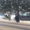 В Тверской области внедорожник протаранил патрульный автомобиль ДПС, один инспектор погиб, второй в тяжелом состоянии в больнице (фото)