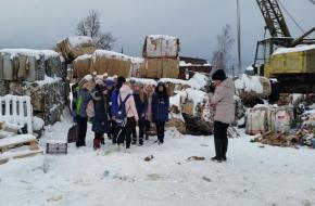 Торжокским школьникам рассказали о раздельном сборе мусора