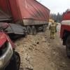 Опубликовано видео страшной автокатастрофы под Торжком в которой погиб человек (видео)