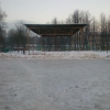 В поселке Калашниково неизвестные преступники украли с ледового катка прожекторы освещения