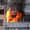 В Торжке загорелся балкон в многоквартирном доме