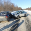 В Лихославльском районе столкнулись две иномарки, пострадала 30-летняя пассажирка (фото)
