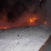 Утром в поселке под Торжком сгорел сарай (фото)