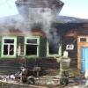 В Селищах сгорел жилой дом, погибла 84-летняя старушка (фото)
