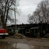 Ночью в Калашниково сгорел многоквартирный жилой дом (фото)