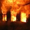 В Лихославльском районе сгорел жилой дом, в пожаре сильно обгорел человек