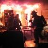 Пожарные вынесли женщину из горящей квартиры в Лихославле