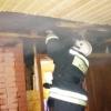 В поселке Крючково загорелся дачный дом (фото)