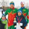 В конце сезона лихославльские лыжники завоевали россыпь наград различных соревнований