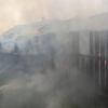 Днем в Торжке из-за неисправной печи сгорела баня