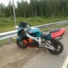 Под Торжком мотоциклист на огромной скорости влетел в отбойник (фото)