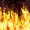 Ночью в Лихославльском районе сгорела баня