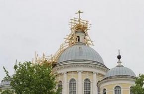 На Спасо-Преображенском соборе в Торжке установлены кресты