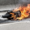 В Торжокском районе напали на деревенского байкера и сожгли его мотоцикл