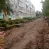 В Торжке ведутся работы по благоустройству дворов и улиц