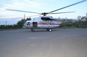 Жительницу Лихославля в коме на вертолете МЧС доставили в Областную клиническую больницу (фото)