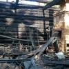 В поселке Калашниково снова активизировались поджигатели: вечером горели сараи, ночью больничный склад (фото)