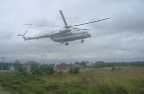 Жителя Торжокского района на вертолете доставили в областную клиническую больницу (фото)