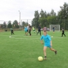 В Весках открылось мини-футбольное поле с искусственной травой