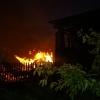 В деревне под Торжком сгорел скотный двор (фото)