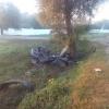Пьяные гонки на огромной скорости обернулись столкновением с деревом и двумя трупами (фото)