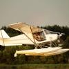 В Тверской области в озеро упал самолет